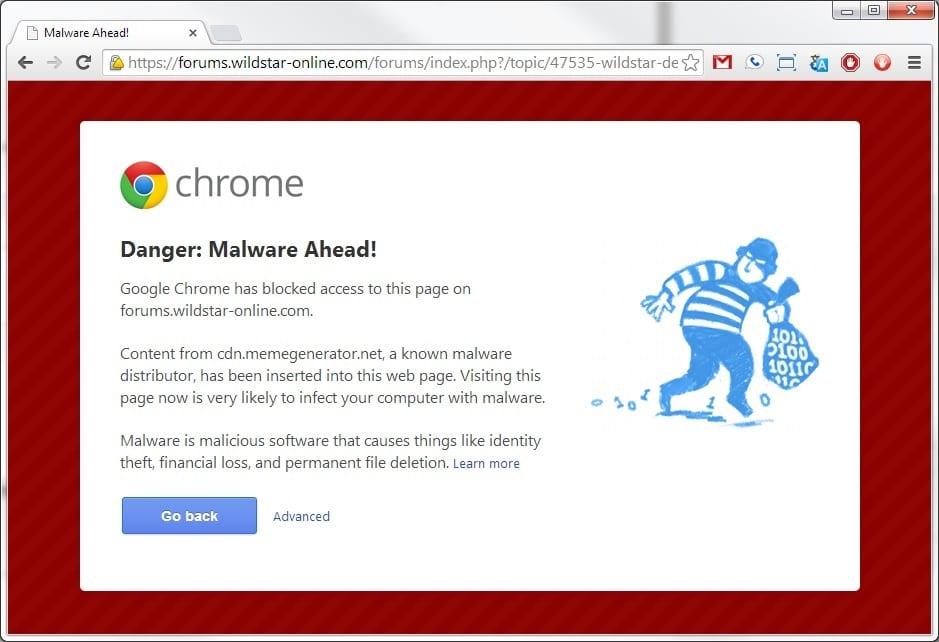 google-chrome-malware-waarschuwing