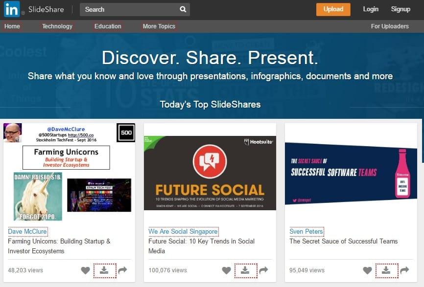 slideshare-directory