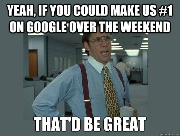 SEO Google meme