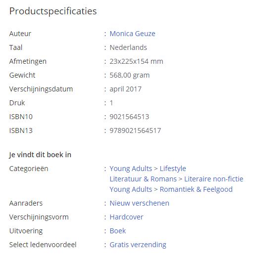 Voorbeeld interne linkstructuur bol.com gerelateerde categorieen