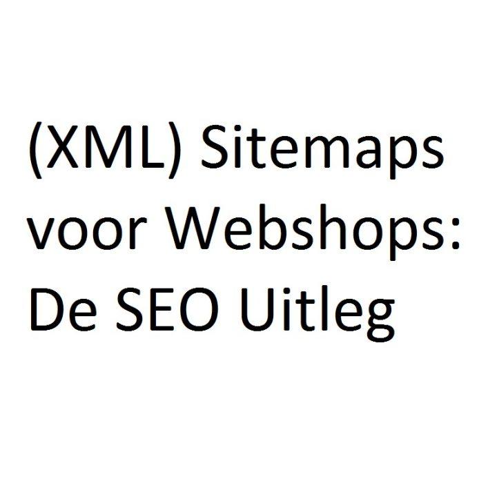 XML Sitemaps voor Webshops (SEO)