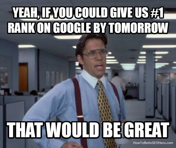 SEO meme morgen ranken in Google