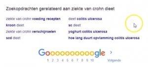 Gerelateerde Content Onderaan Google