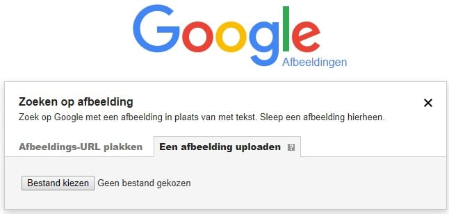 Google Afbeelding Opzoeken