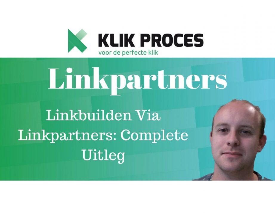 Linkpartner YouTube Voorkant Blog