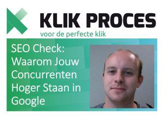 SEO Check - Waarom Jouw Concurrenten Hoger Staan in Google