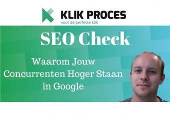 SEO Check YouTube Voorkant blog