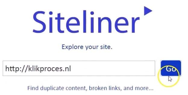 Siteliner voor Duplicate Content