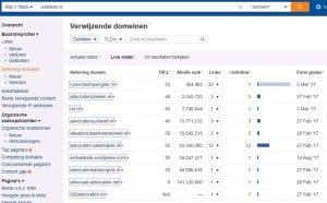 Website is Niet Belangrijk Door Te Weinig Backlinks