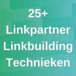 25+ Linkpartner Technieken