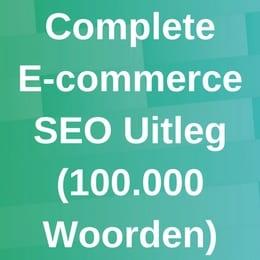 E-commerce uitleg