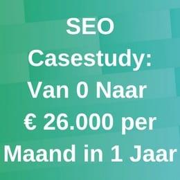 SEO Casestudy 26000 euro