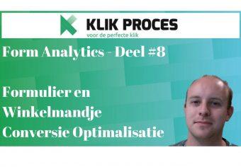 Form analytics en testen voorkant