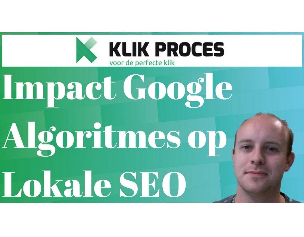 Impact Google Algoritmes op Lokale SEO voorkant