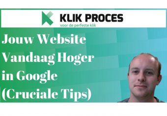 Jouw Website Vandaag Hoger voorkant