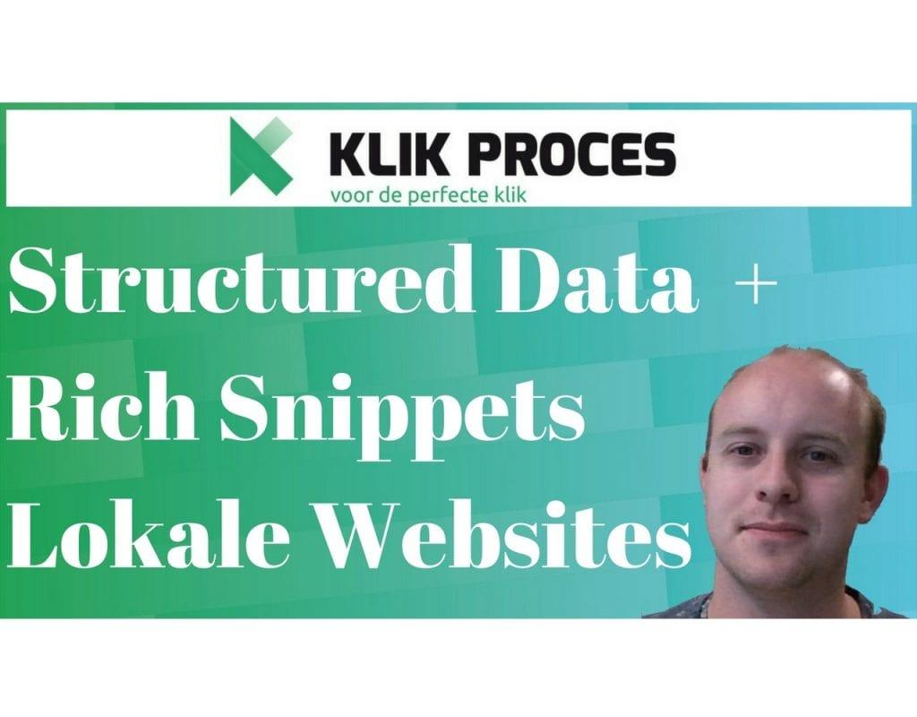 Structured Data en Rich Snippets Lokale Websites Voorkant