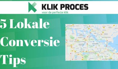 conversie tips lokale website