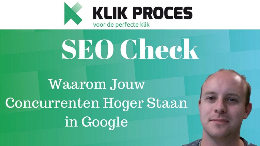 SEO Check YouTube Voorkant