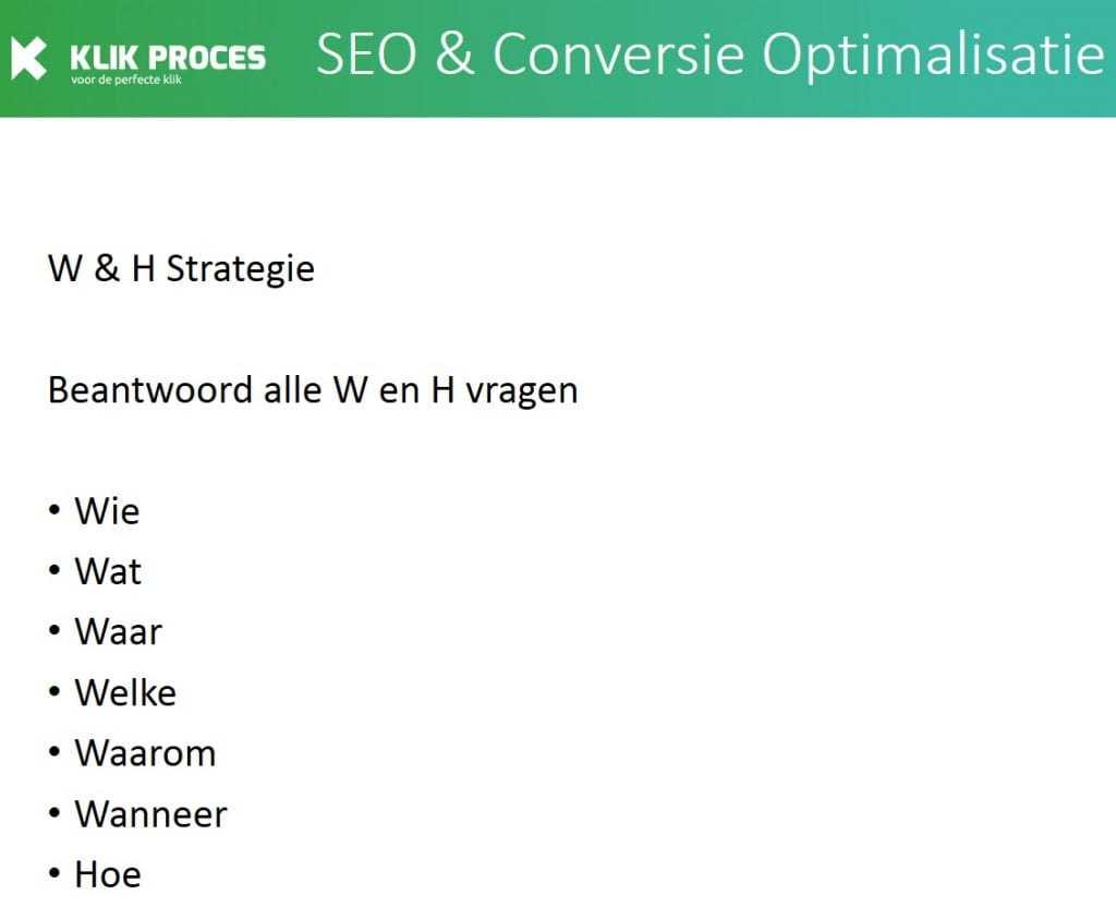 W & H Strategie