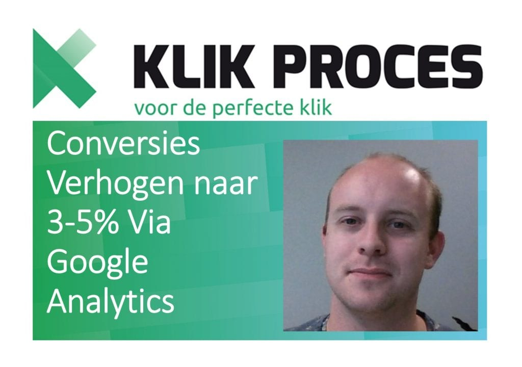 Conversie Optimalisatie via Google Analytics