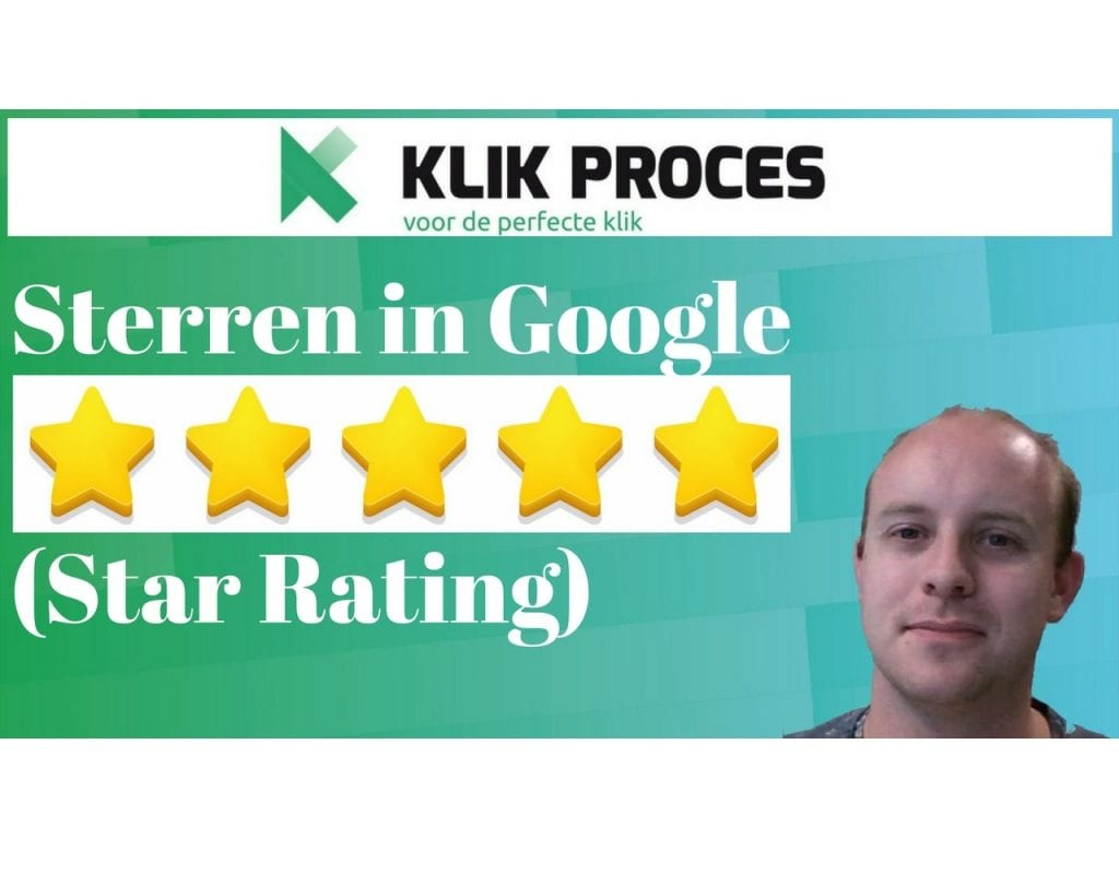 Google Star Rating - Sterren in Google voorkant