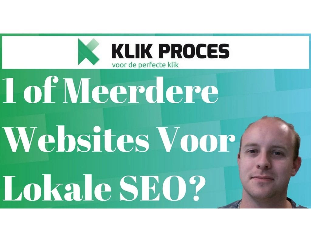1 of Meerdere Lokale SEO Websites? (Deel 6)
