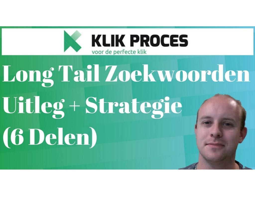Long Tail Zoekwoorden SEO strategie en content marketing strategie voorkant