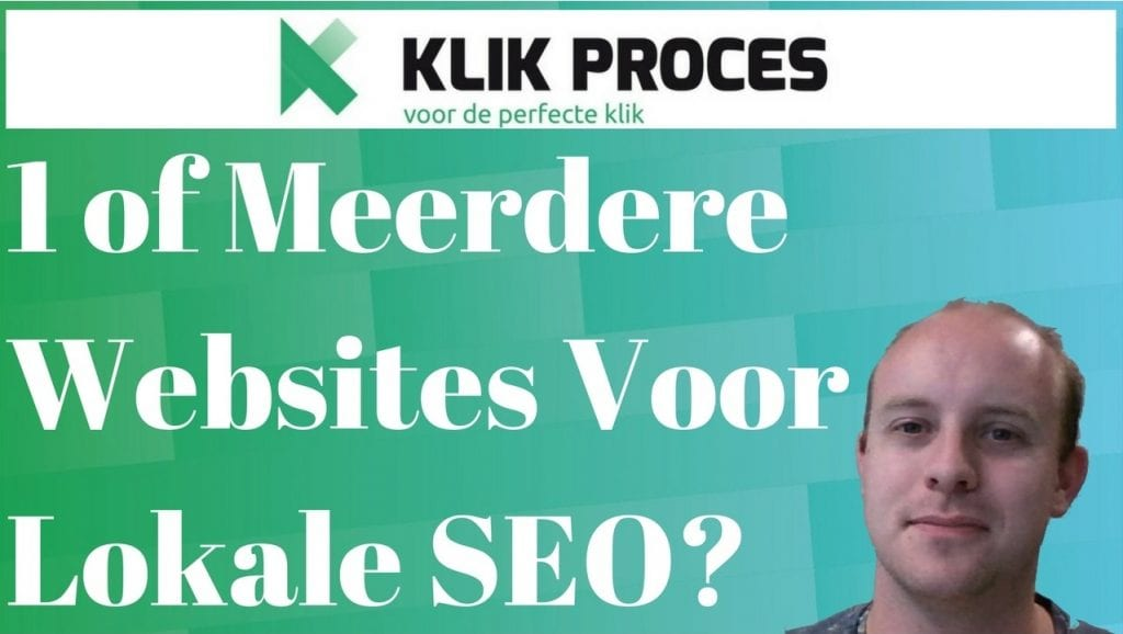 Een of Meerdere Lokale SEO Websites?