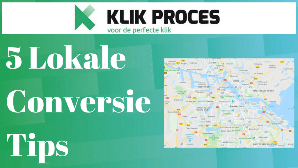conversie tips lokale website