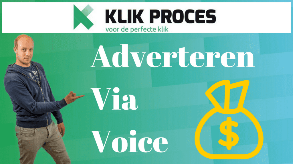 Adverteren via Voice Search – SEA, PPC of Iets Anders?