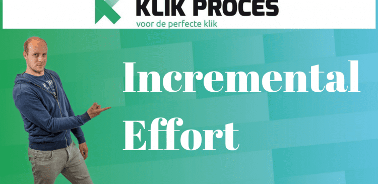 Incremental Effort