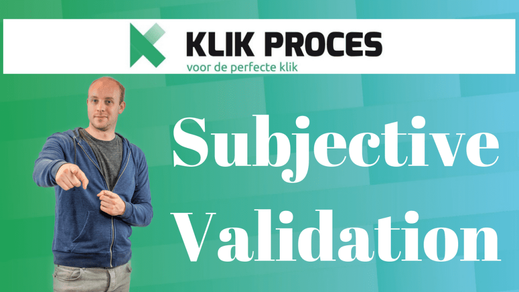 Subjective validation (Personal Validation Effect)
