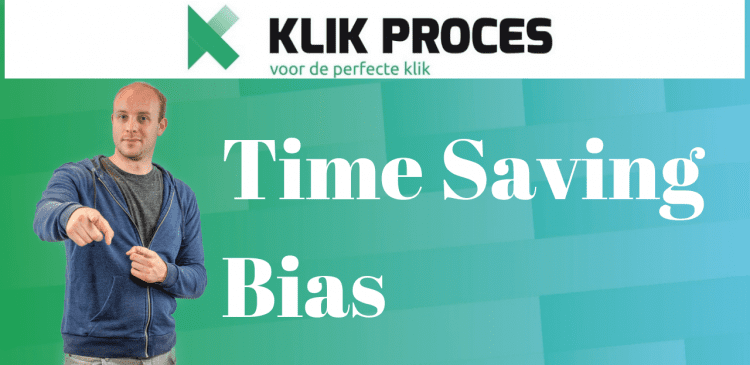 Time-Saving Bias
