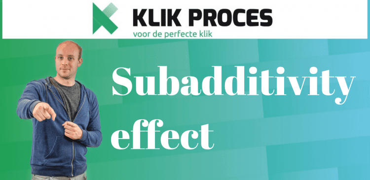 subadditivity effect