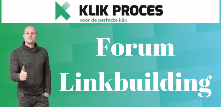 Forum Linkbuilding