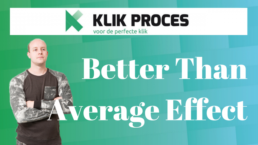 Wat is Better Than Average Effect en Hoe Werkt Het?