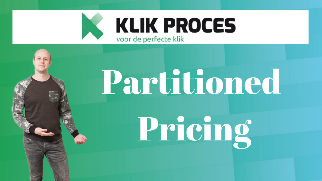 partitioned pricing