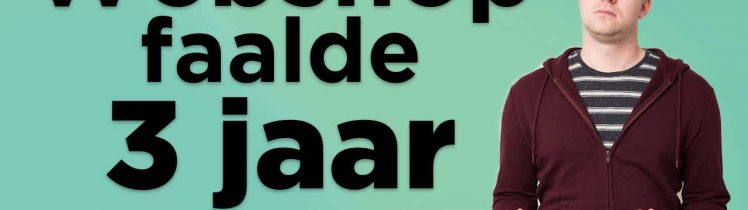 website faalde 3 jaar