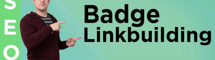 Badge linkbuilding tactiek