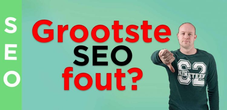 Grootste SEO fout tijdens concurrentieanalyse