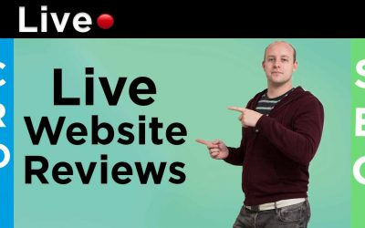 Live SEO & CRO Website Reviews