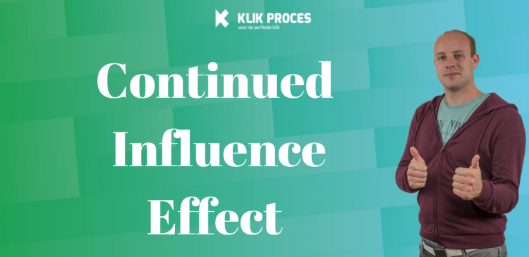 Continued influence effect